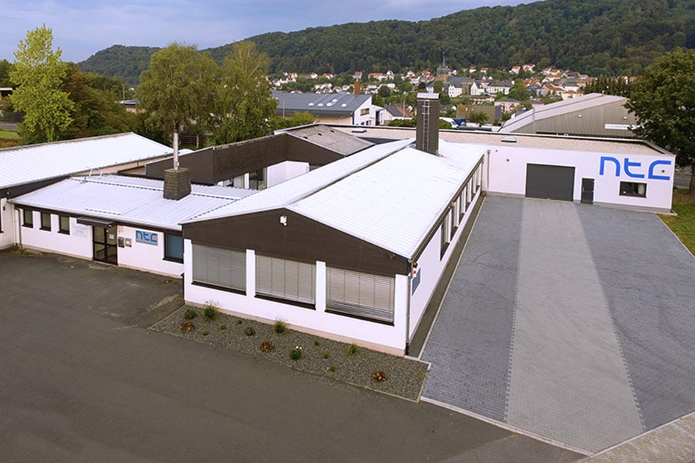 NTC Unternehmen Produktion neue Halle